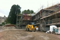 Commercial Scaffolding for Grange Gobe