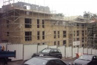 New Build Scaffolding in Preston